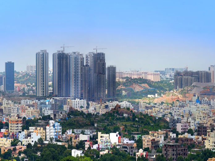 Why are property prices rising high in Hyderabad?