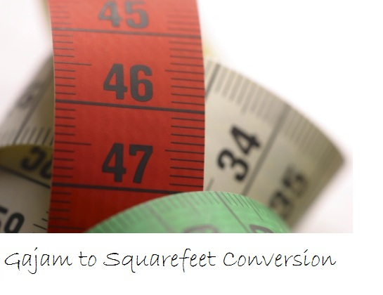 How to Convert Gajam to Square Feet (Sq Ft)