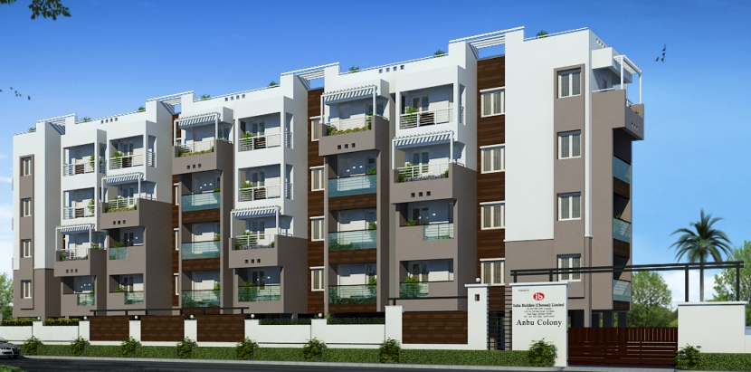 India Builders Anbu Colony