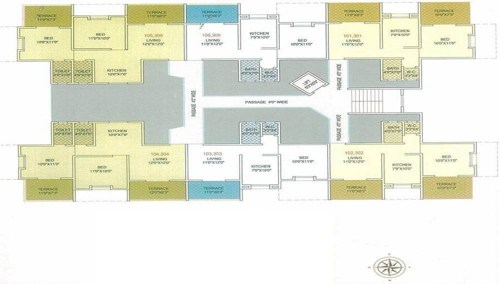 Sairaj Residency