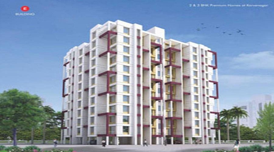 Parth Enclave E Building
