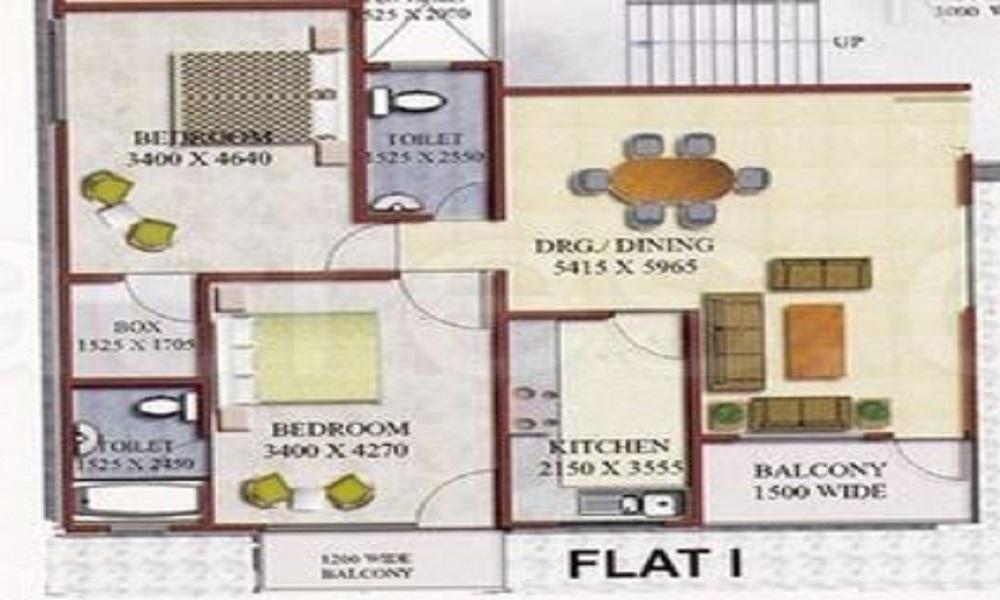 Godawari Agrasen Heights Floor Plan