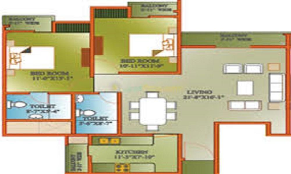 Celebrity Woods Floor Plan