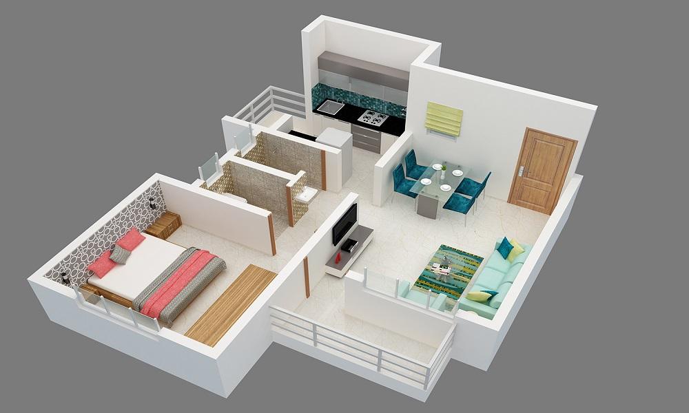 Vibgyor Housing Floor Plan