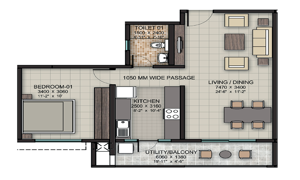 Yushan Maple Viva Floor Plan