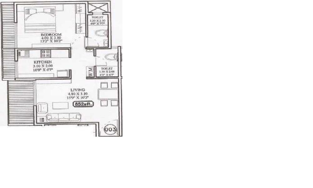 Dolphin Metro Point Floor Plan