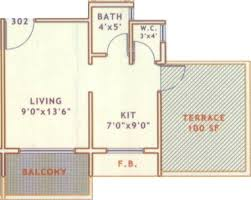 Future Harsiddhi Apartment Floor Plan
