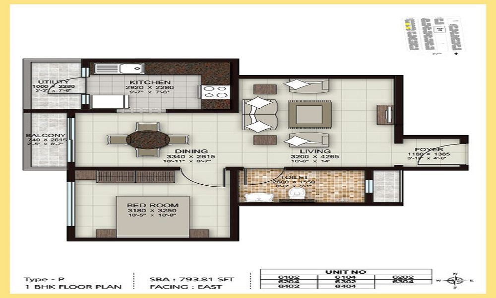 Shreeji Ira Floor Plan