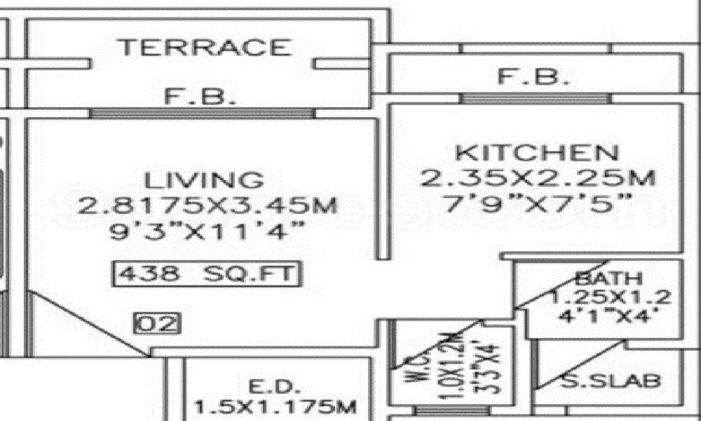 Tejas Omkar Floor Plan