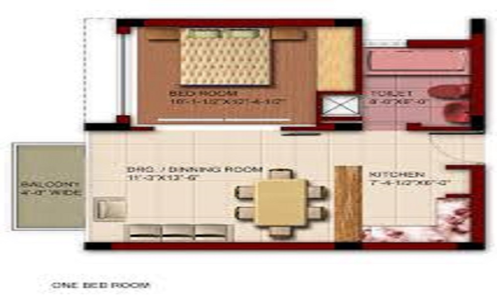 ETA Globevill Floor Plan