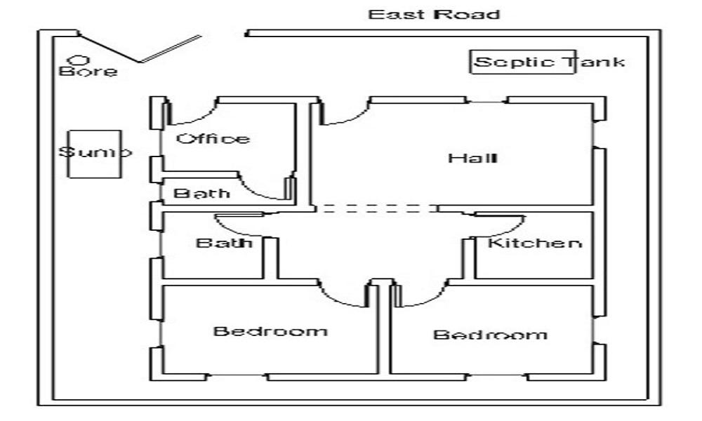Green Home Detroit Plot Floor Plan