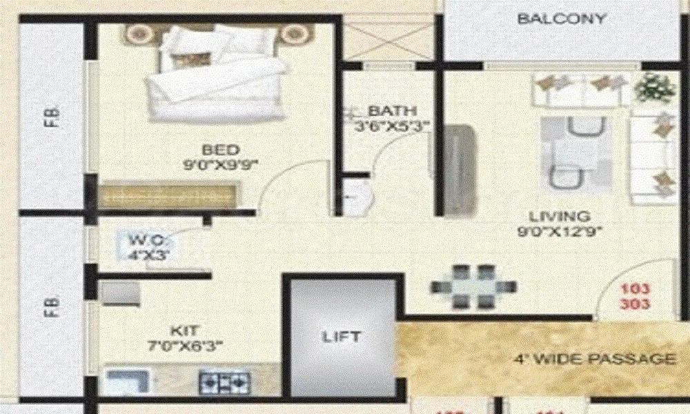SR S M Look Floor Plan
