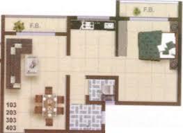 SR A R Heights Floor Plan