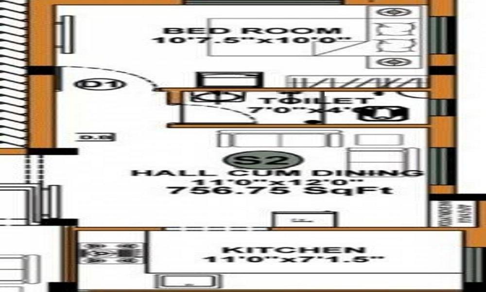 JKB SRI NAVIN Floor Plan
