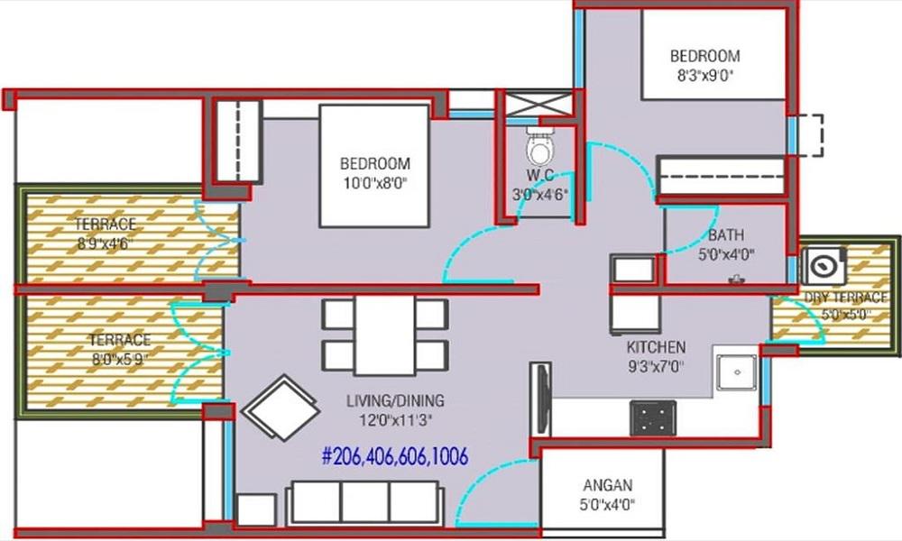 Mantra 29 Gold Coast Floor Plan