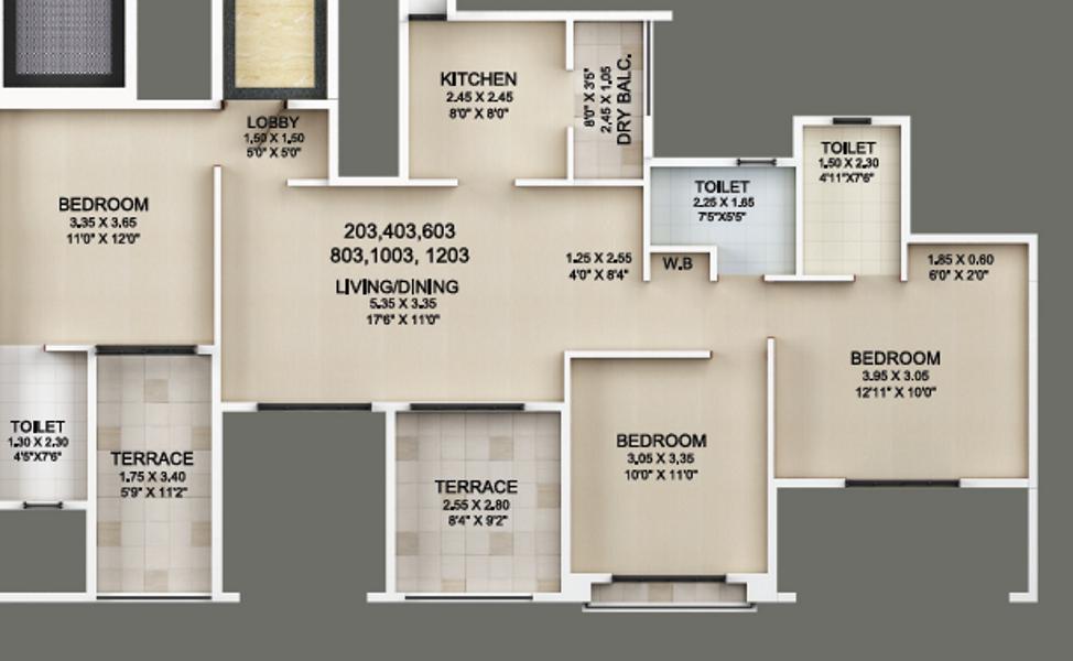 Guardian Eastern Meadows Floor Plan