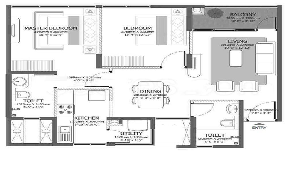 Godrej Azure Floor Plan