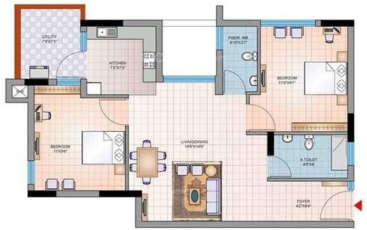 Mantri Synergy 2 Floor Plan