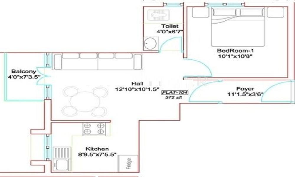 Marutham Developers Marutham Westwood Floor Plan