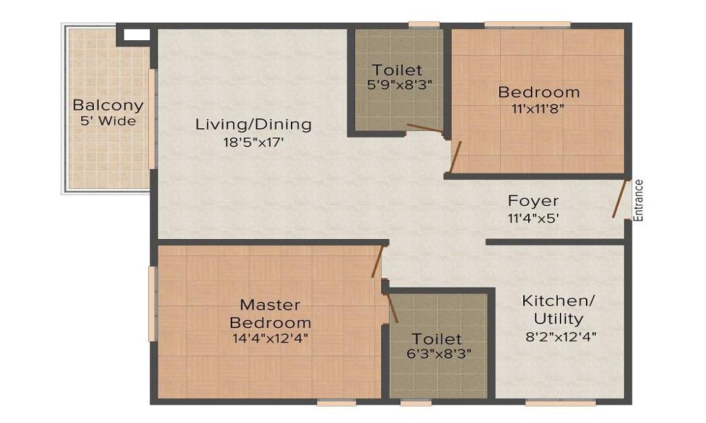 Prestige Ivy League Floor Plan
