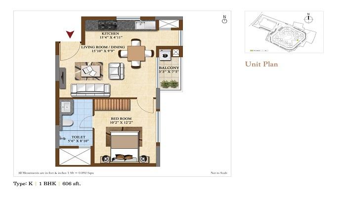 Salarpuria Sattva Divinity Floor Plan