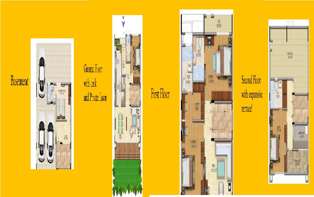 Salarpuria Sattva Northland Floor Plan