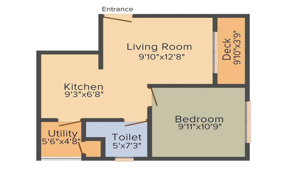 Skylark Ithaca Floor Plan