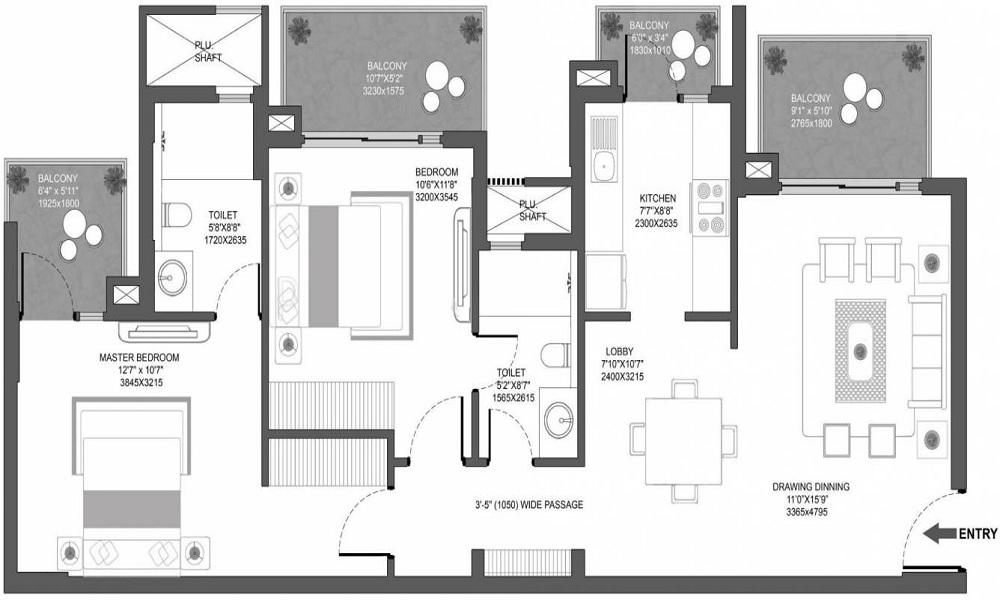 Godrej Oasis Floor Plan