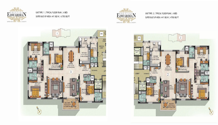 Prestige Edwardian Floor Plan