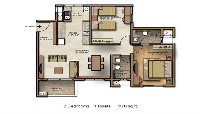 Brigade Crimson Floor Plan