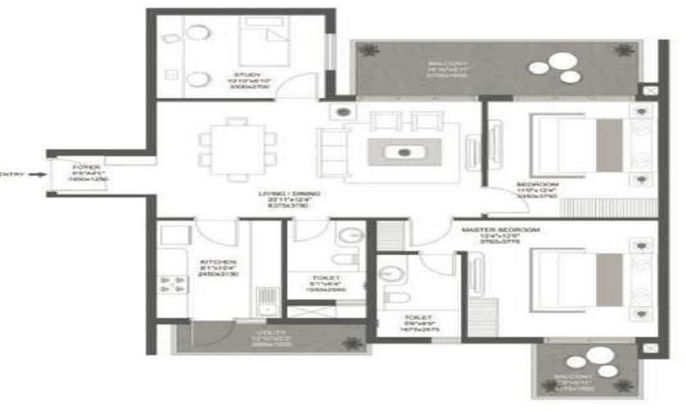 Godrej Aria Floor Plan