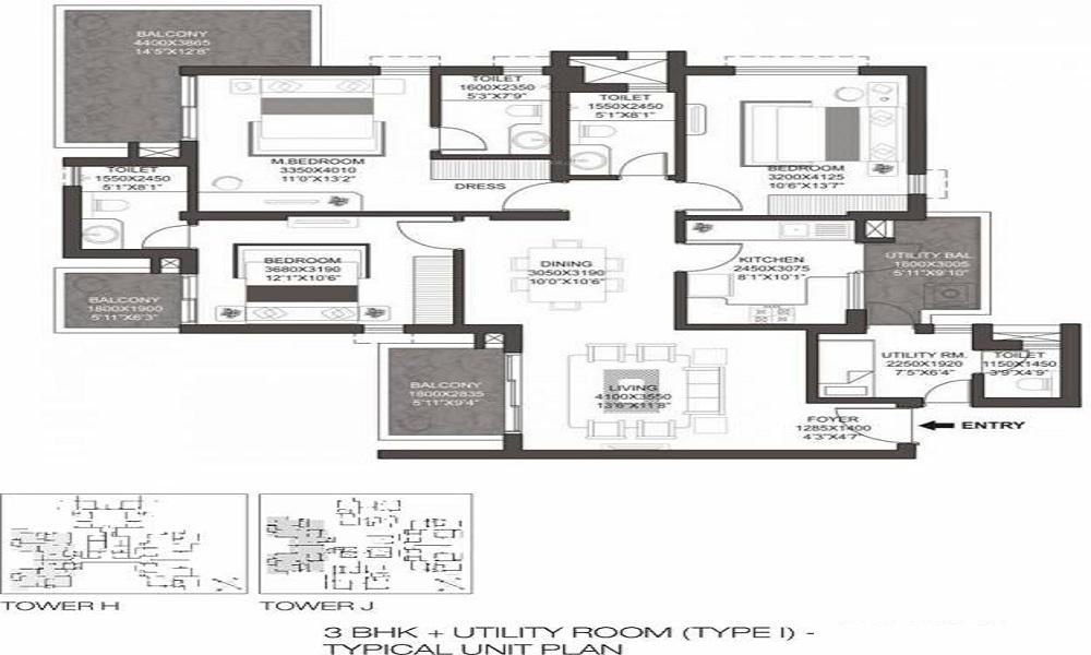 Godrej Summit Floor Plan