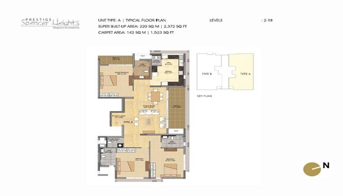 Prestige Spencer Heights Floor Plan
