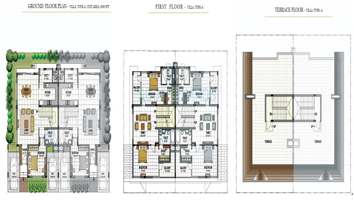 Prestige Summer Fields Floor Plan