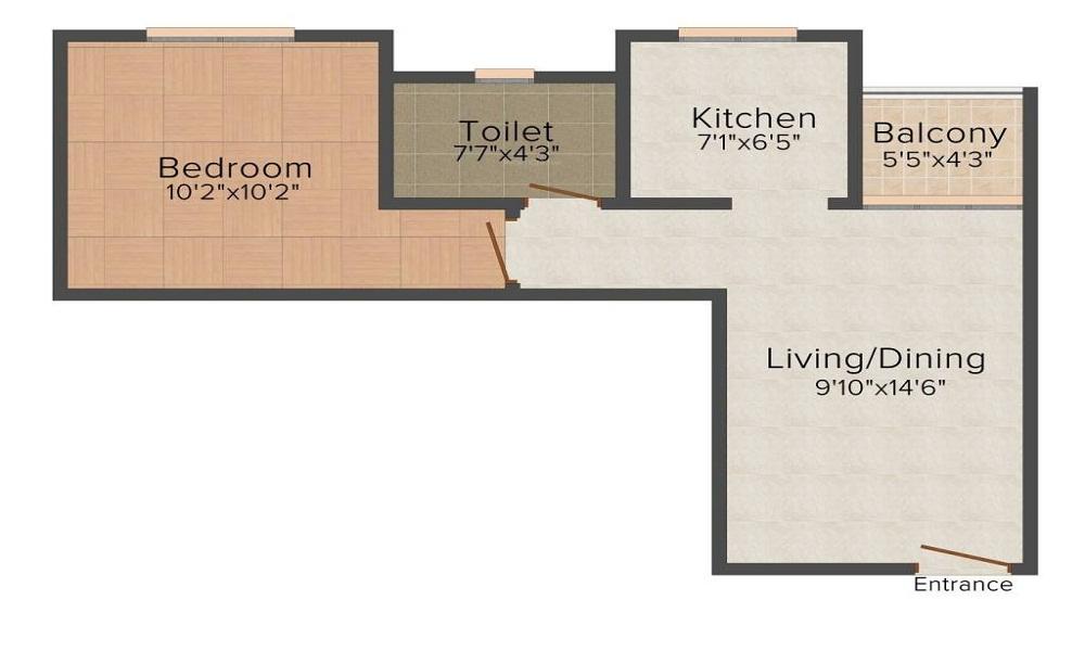 Sobha Serene Floor Plan