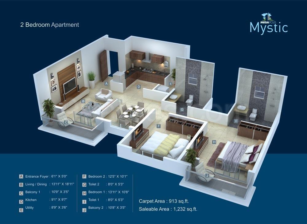 Megapolis Mystic Floor Plan