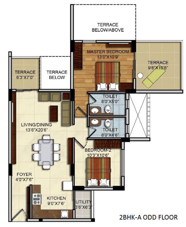 Mantri Vantage Floor Plan