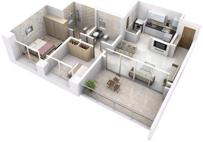 BU Bhandari Casa Regalo Floor Plan