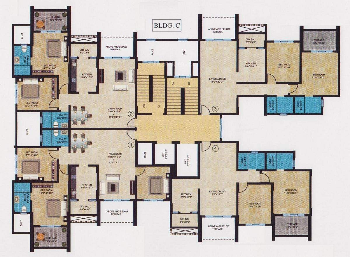 Sheth Realty Tiara Floor Plan