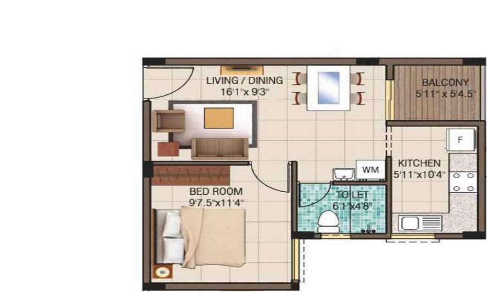 Jaypee Greens Kensington Boulevard Floor Plan