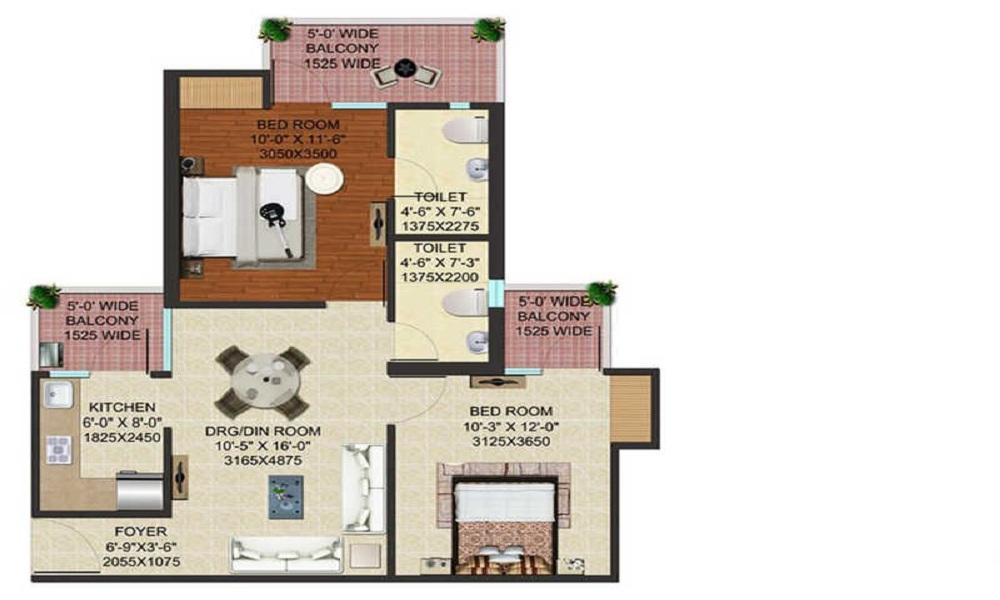 JM Florence Floor Plan