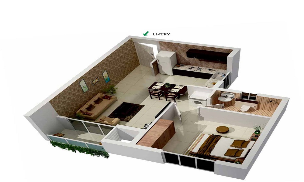 The Home Solutions Floors 4 Floor Plan