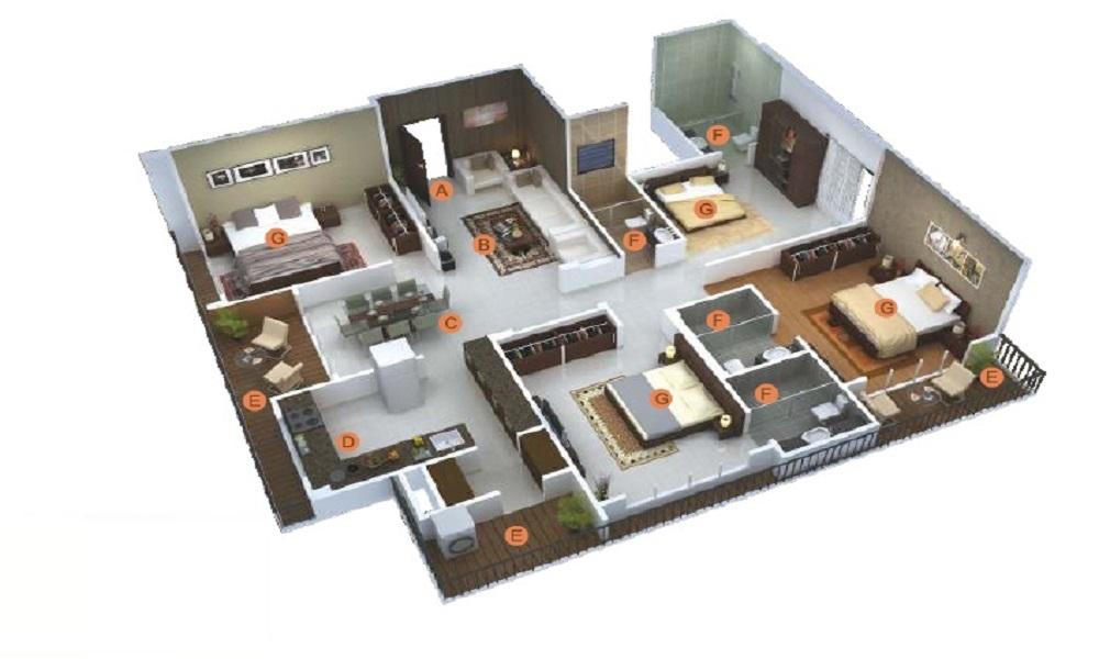 The Home Solutions Floors 7 Floor Plan
