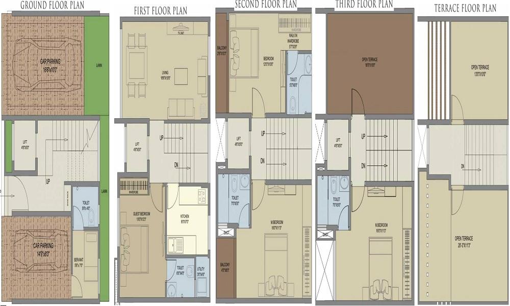 Vivansaa Baalsam Floor Plan