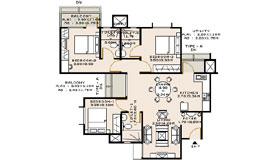 Sobha Iris Floor Plan