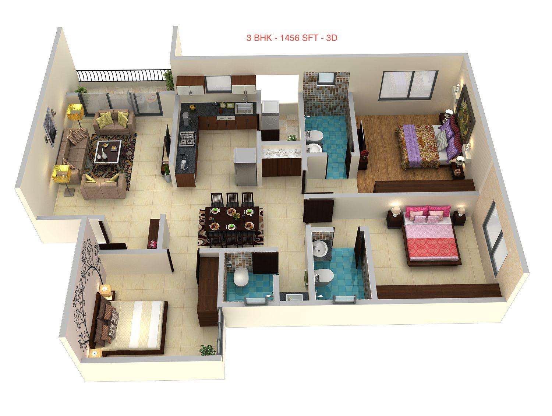 Lore Pride Floor Plan