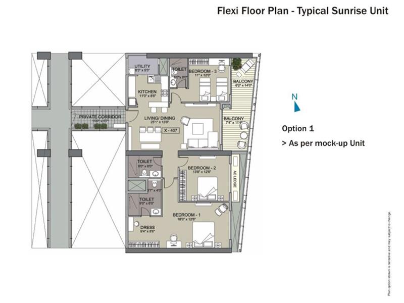 Unishire Xperience Floor Plan