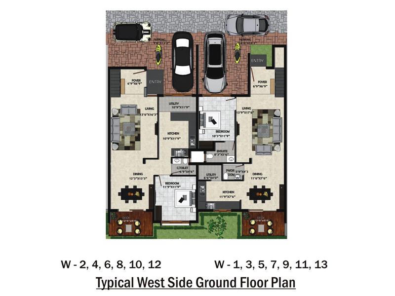 Unishire Esplanade Floor Plan