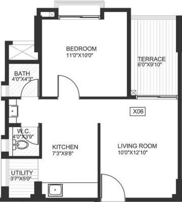 Godrej Horizon Floor Plan