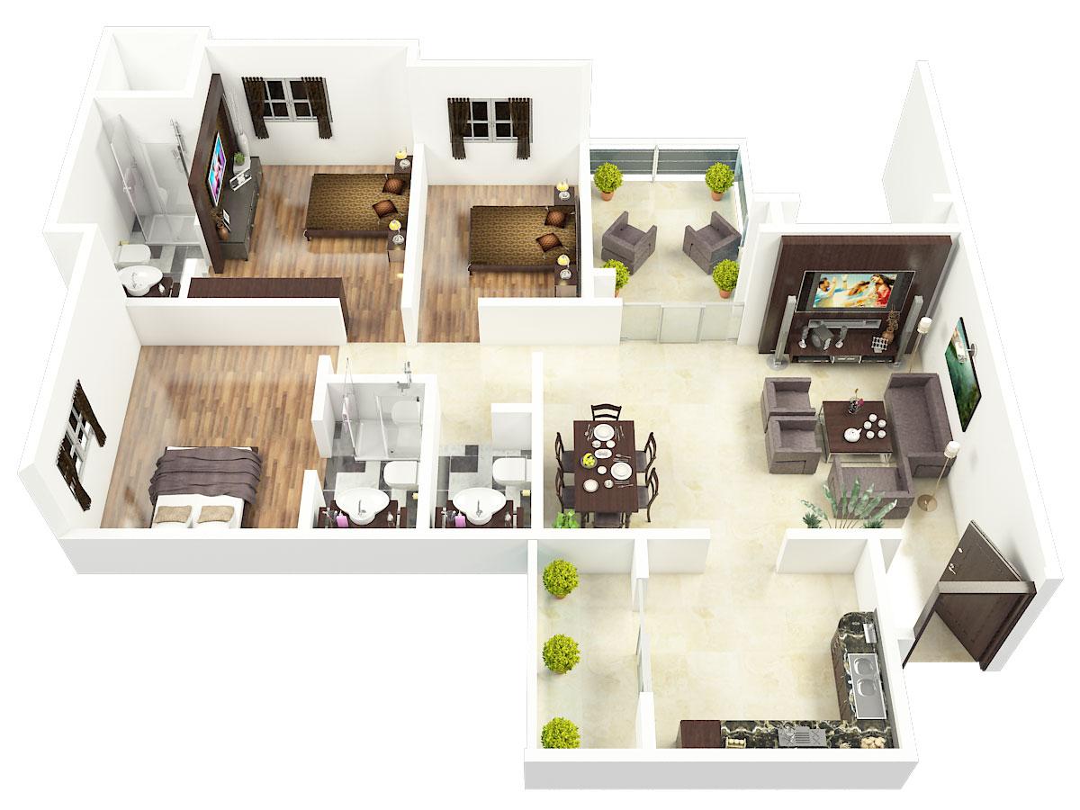 Renaissance Park III Floor Plan